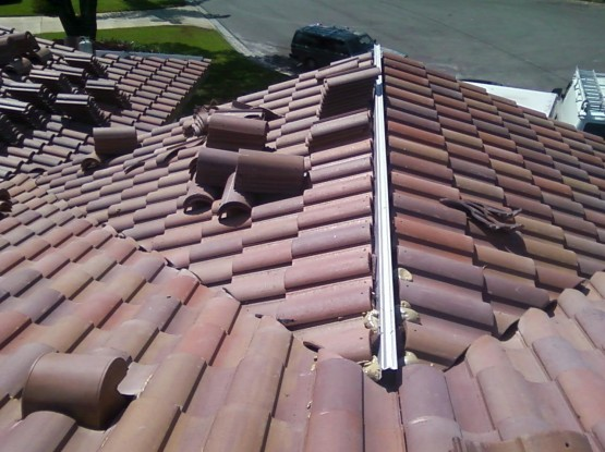 Tile Roof Work