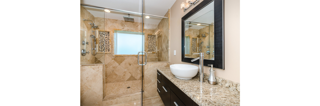 Bathroom Remodels Under Construction - Whole bathroom remodel